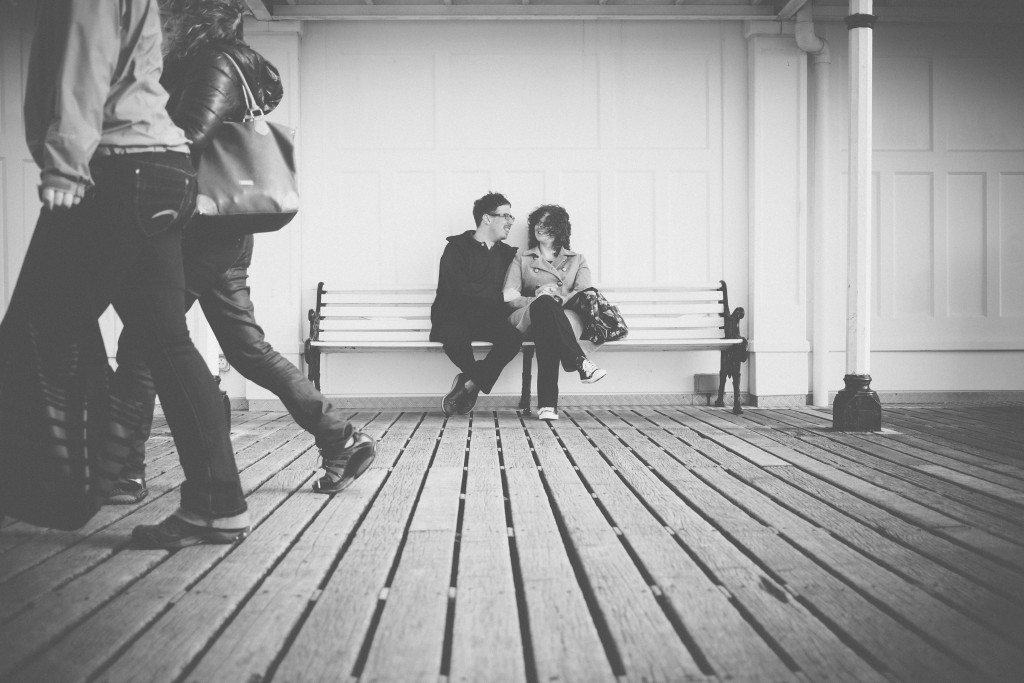 A Brighton engagement Shoot