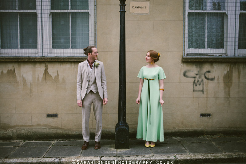 Retro inspired quirky wedding